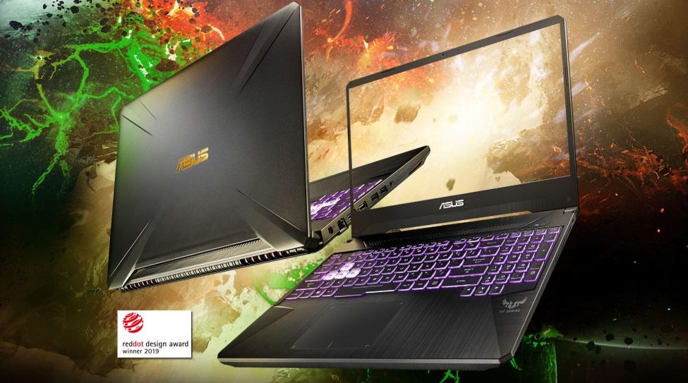 ASUS TUF Gaming FX505DD / DT / DU'nın Güçlü Bir Tazelemesi