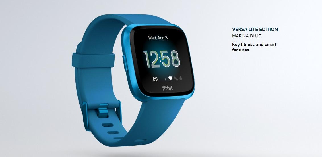 Fitbit Versa Lite Smartwatch daha ucuz ve daha iyi geliyor