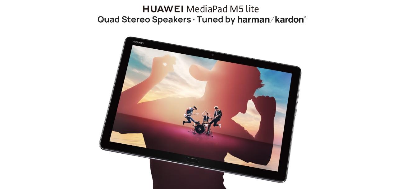 HUAWEI MediaPad M5 Lite Çocuklar İçin Yapıldı
