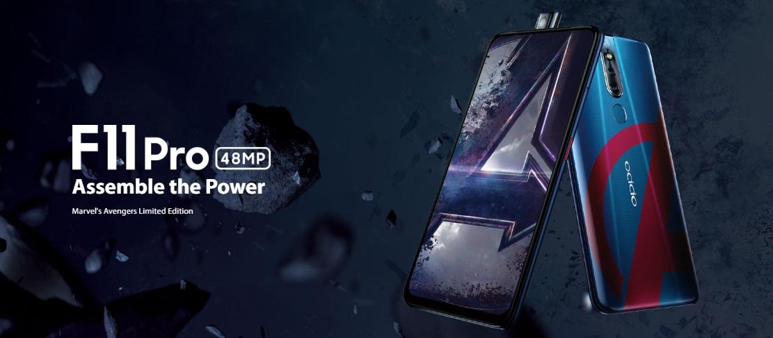 Marvel'in Avengers Sınırlı Üretim OPPO F11 Pro