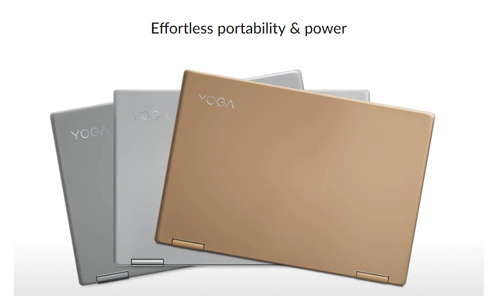 Lenovo Yoga 720, Zahmetsiz Kompakt ve Taşınabilir